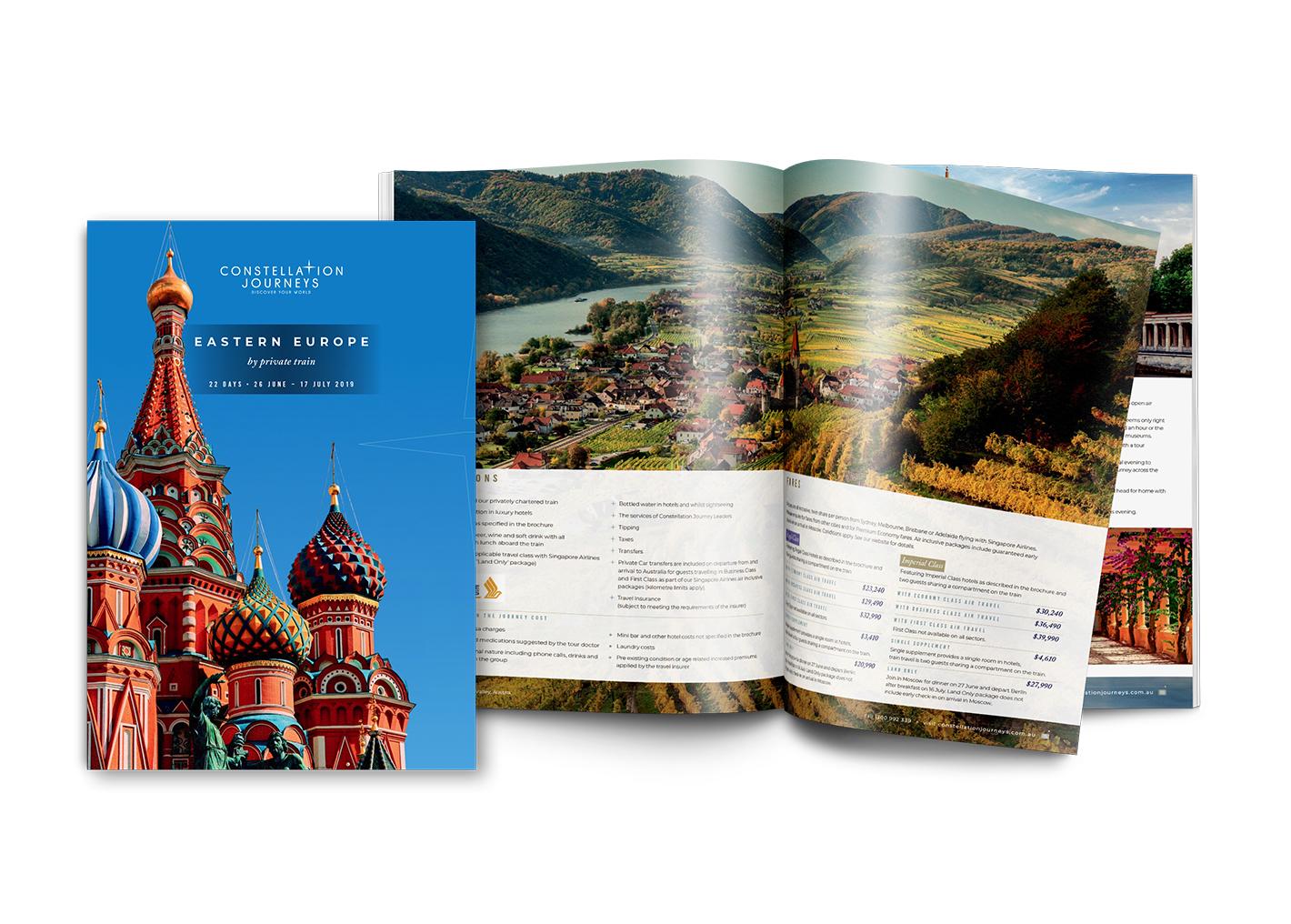 Constellation Journeys Europe Brochure